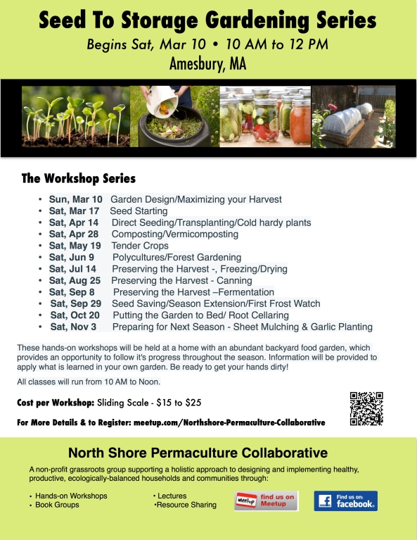 NSPC - Seed to Storage Gardening Series